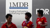 Werbeplakat für den Staatsfond 1MDB.