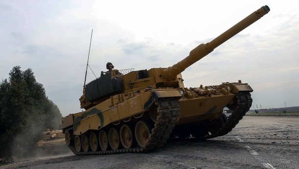 Türkei bleibt größter Abnehmer für deutsche Kriegswaffen