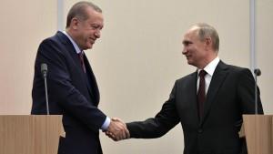Putin und Erdogan wollen politische Lösung