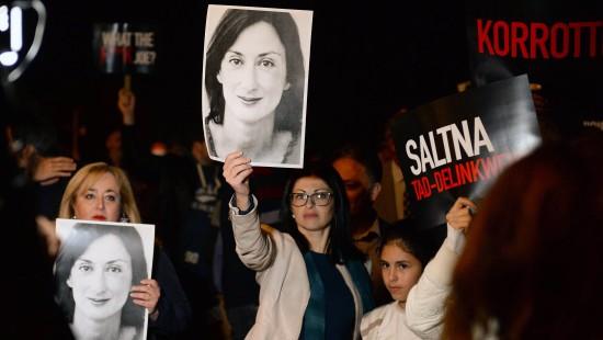 Geschäftsmann wegen Mord an Journalistin festgenommen
