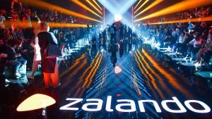 Rote Zahlen für Zalando