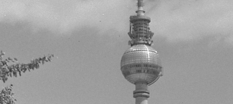 Der Berliner Fernsehturm Wird 50