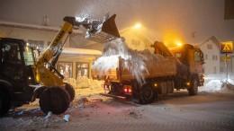 Europa kämpft mit dem Schnee