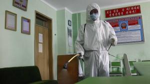 Angeblich keine Infizierten in Nordkorea