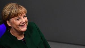 Merkels Erfolg hängt auch mit der Flüchtlingszahl zusammen