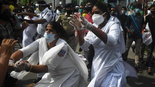Bundesregierung weitet Corona-Hilfen für Indien aus