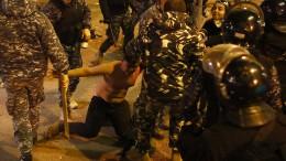 Zusammenstöße zwischen Demonstranten und Sicherheitskräften in Beirut