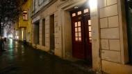 """Der Moschee-Verein """"Fussilet 33"""" im Berliner Stadtteil Moabit, vor dem Anis Amri von einer Überwachungskamera gefilmt wurde"""