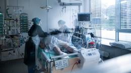 Fast 5000 Corona-Patienten auf deutschen Intensivstationen