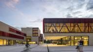Ästhetisch ambitioniert: der Campus der Hochschule West-Ruhr in Mühlheim