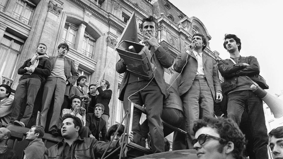 Augenblicke, in denen alles möglich schien: Pariser Studenten ergreifen im Mai 1968 das Wort