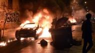 Autonome wüten im Zentrum Athens