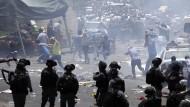 Schwere Zusammenstöße am Tempelberg