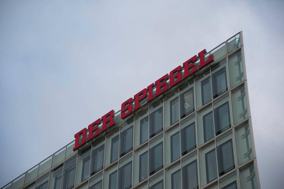 """Die """"Spiegel""""-Zentrale in Hamburg"""
