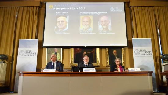 Physik-Nobelpreis geht an Gravitationswellen-Forscher