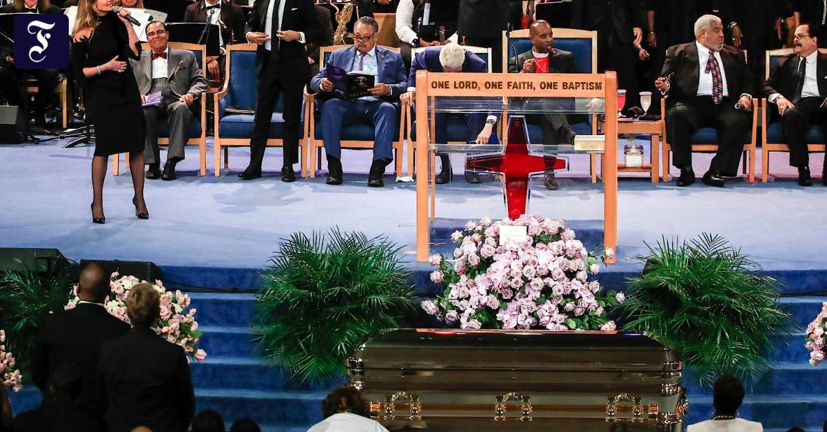 Trauerfeier Aretha Franklin