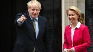 Werden sie den Brexit-Knoten lösen?