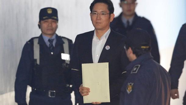 Samsungs Lee Jae-yong muss wieder vor Gericht