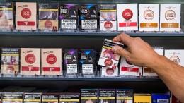 Staatshaushalt kriegt weniger Geld von Rauchern