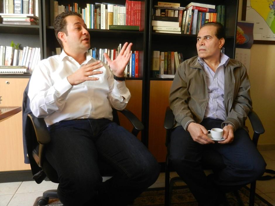 Mohammad Abu Rumman und Abu Hanieh