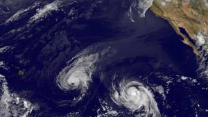 Hurrikan-Warnung für Hawaii