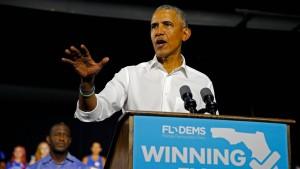 Obama wirft Trump Panikmache beim Thema Einwanderung vor