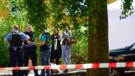 Vater vor Mehrfamilienhaus in Berlin totgeschlagen