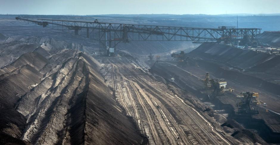 Kohleförderung
