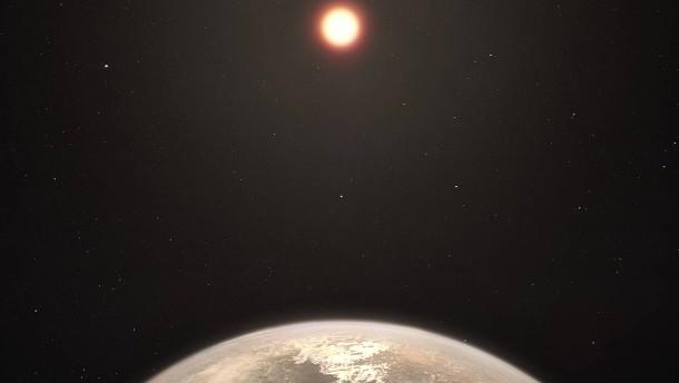 Ein temperierter Planet mit Kurs auf die Erde