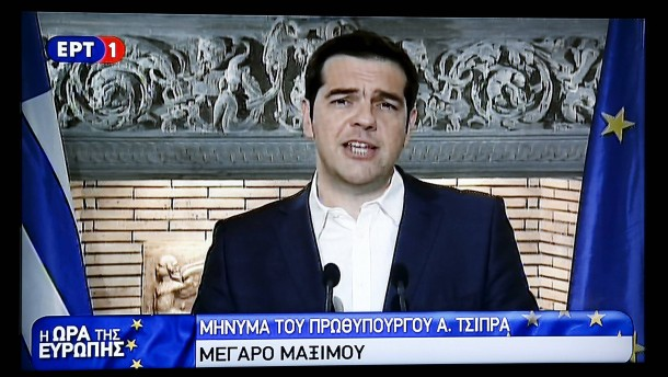 Tsipras kündigt Volksabstimmung über Gläubiger-Angebot an