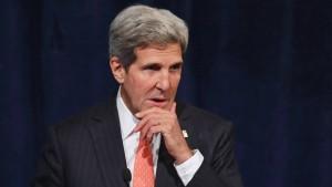 Kerry dringt auf demokratische Wahlen