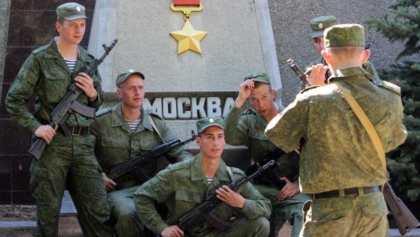 Wo selbst der Himmel russisch ist