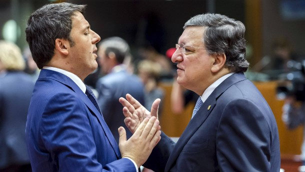Renzis Spaß mit der EU