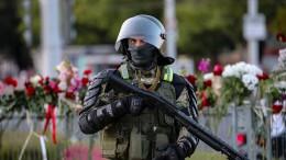 Polizei setzt Schusswaffen gegen Demonstranten ein