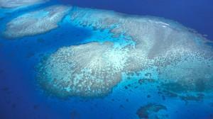 Inseln im Meer - Landgewinn mit minimalem Aufwand.