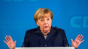 Bei Merkel ist nicht eindeutig, was Inszenierung und was Überzeugung ist