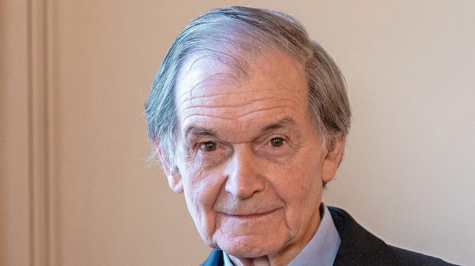 Physik-Nobelpreisträger von 2020 Roger Penrose