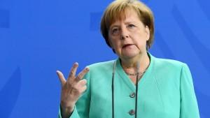 Merkel hält IS für langfristige Gefahr