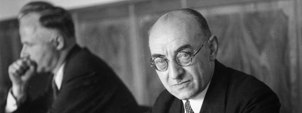In Bonn: Leo Wohleb 1949