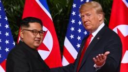 Ein zweites Treffen zwischen Kim und Trump?