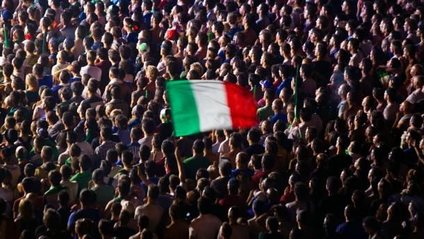 Italiens Bonität zwei Stufen herabgesetzt