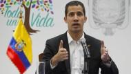 Der selbsternannte venezolanische Interimspräsident Juan Guaidó