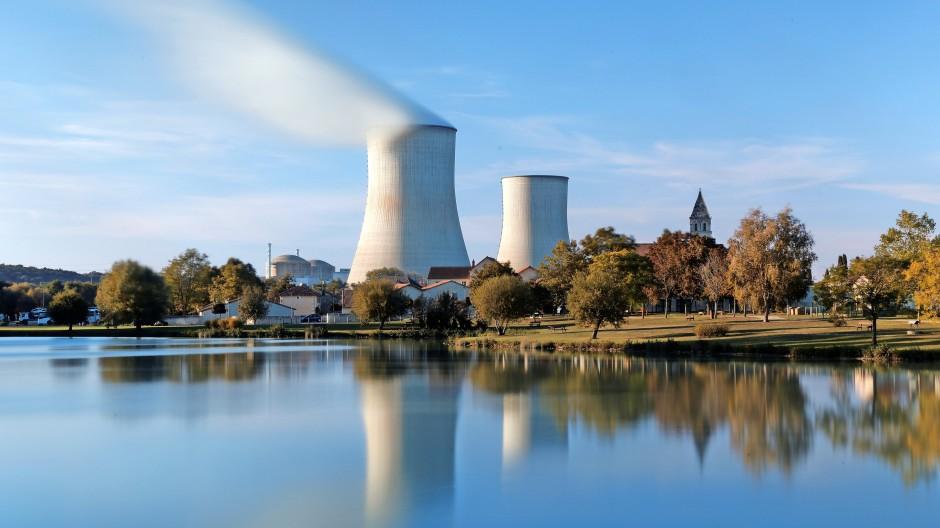 Atomkraftwerk in Civaux: Frankreich gewinnt viel Strom aus Kernkraft.