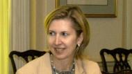 Mira Ricardel (hier auf einer Sitzung im Pentagon) hatte sich mit First Lady Melania überworfen.