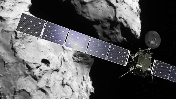 Die Raumsonde Rosetta steht vor dem Finale ihrer Reise