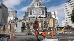 Heftige Erdbeben erschüttern Neuseeland