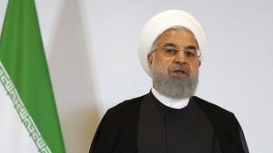 Rohani will sachlich auf Trumps Drohungen reagieren
