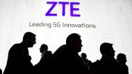 Der ZTE-Stand beim Mobile World Congress in Barcelona vergangenen Februar.