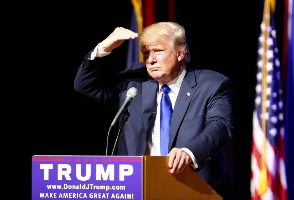 Bild Zu Umfrage Trump Holt Gegen 252 Ber Clinton Auf Bild 1 Von 1 Faz