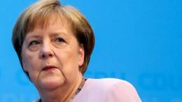 Merkel bekennt sich zum Fortbestand der Koalition